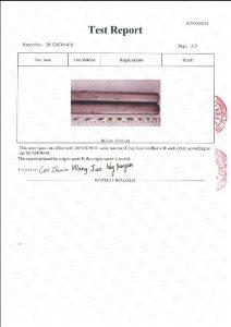 A453 660B 3 के लिए प्रमाण पत्र