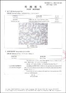 S32760 के लिए प्रमाण पत्र