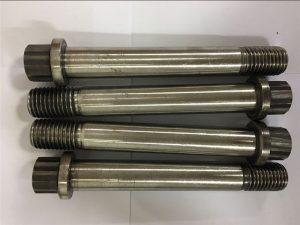 निकल मिश्र धातु Inconel 718-uns n07718-EN2.4668 निकला हुआ किनारा बोल्ट पेंच बांधनेवाला