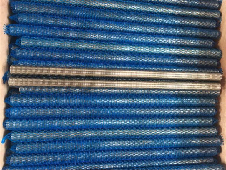 निकल मिश्र धातु ingel601 / 2.4851 ट्रेपोजॉइडल थ्रेडेड रॉड नया माल