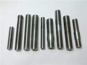 नं .104-अलॉय 718 2.4668 थ्रेड रॉड, स्टड बोल्ट फास्टनर DIN975 DIN976
