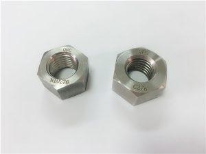 No.108- निर्माता विशेष मिश्र धातु फास्टनरों hastelloy C276 पागल