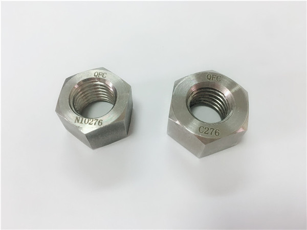 निर्माता विशेष मिश्र धातु फास्टनरों hastelloy c276 पागल