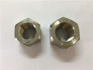 नंबर 11-निर्माण निकल मिश्र धातु A453 660 1.4980 हेक्स नट