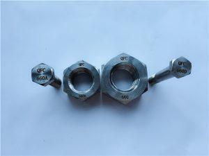 No.24- मिश्र धातु 660 हेक्स बोल्ट, फास्टनरों