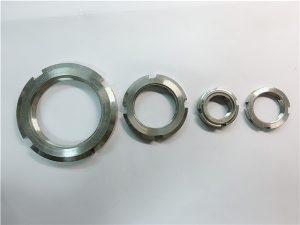 No.33- चीन आपूर्तिकर्ता कस्टम स्टेनलेस स्टील गोल अखरोट बनाया