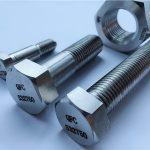 निकल मिश्र धातु monel400 स्टील मूल्य प्रति किलो स्टड बोल्ट नट पेंच बांधनेवाला पदार्थ en2.4360