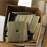 अनुकूलित सुपर डुप्लेक्स s32205 (f60) स्टेनलेस स्टील वर्ग प्लेट वॉशर / बांधनेवाला पदार्थ