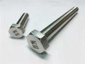 No.59-Incoloy 925 बोल्ट नट वाशर, मिश्र धातु 825925 फास्टनर