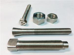 No.61-मिश्र धातु 400 UNS N04400 EN 2.4360 Monel 400 पेंच