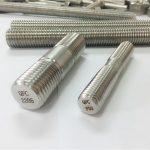 डुप्लेक्स 2205 s32205 2507 s32750 1.4410 उच्च गुणवत्ता वाले हार्डवेयर फास्टनर लकड़ी के थ्रेडेड रॉड एंकर