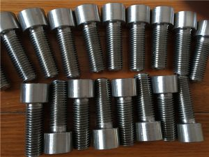 No.9-Incoloy 926 EN1.4529 UNS N08926 सॉकेट सिर पेंच बांधनेवाला पदार्थ