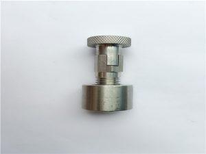 No.95-SS304, 316L, 317L SS410 कैरिज बोल्ट के साथ गोल अखरोट, गैर-मानक फास्टनरों