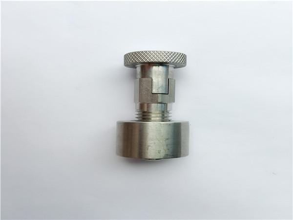 ss304, 316l, 317l, ss410 गाड़ी बोल्ट के साथ गोल अखरोट, गैर-मानक फास्टनरों