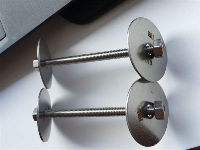 ss310 / ss310s astm f593 बांधनेवाला पदार्थ, स्टेनलेस स्टील बोल्ट, नट और वाशर
