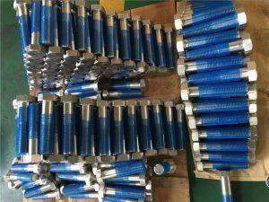 SUS 304L EN1.4306 SS फास्टनर हेक्स ISO4014 आधा धागा बोल्ट