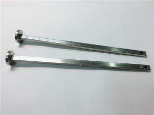 हार्डवेयर बांधनेवाला पदार्थ आपूर्तिकर्ता 316 स्टेनलेस स्टील फ्लैट सिर वर्ग गर्दन din603 m4 गाड़ी बोल्ट